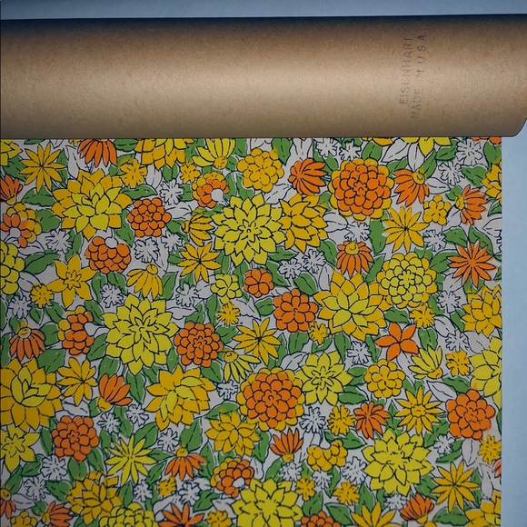 Authentic 1960 S Wallpaper Several Rolls